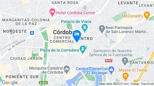 Hotel Macià Alfaros Map