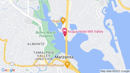 Acqua Hotel Map