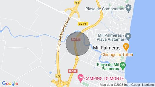 Villa Refugio - Ilmainen Wifi - Giant Puutarha + Uima-allas Map