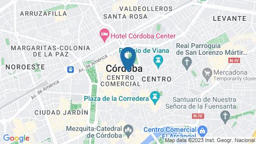 Apartamentos Calle Arfe 4 Map