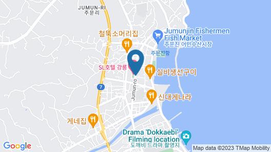Seabay Hotel Gangneung Map