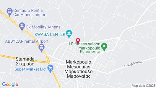 GK Airport Suites Map