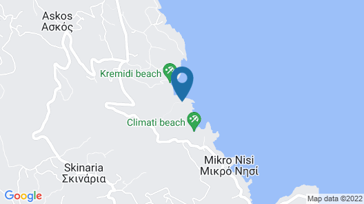 Deja Vu Villas Map