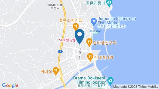 Gangneung Sea Sky Hotel Map