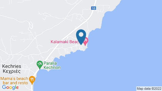 Kalamaki Beach Resort  Map