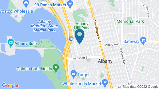 Albany Hill Apartment Map