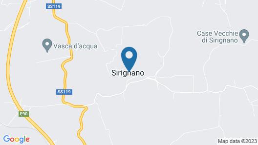 Agriturismo Sirignano Wine Resort Map