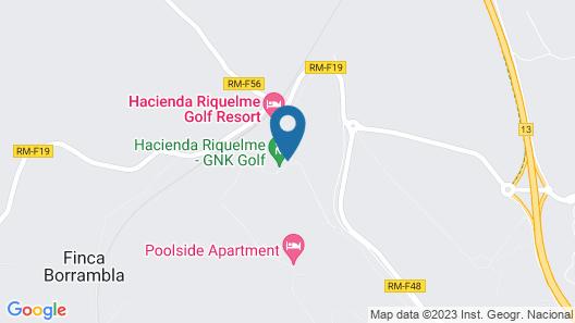 Hacienda Riquelme Golf Resort Sucina Murcia Spain Map