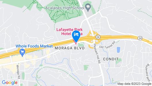 Lafayette Park Hotel & Spa Map