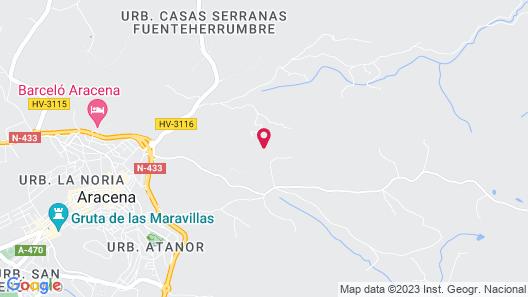 Casas Rurales Finca El Tornero Map
