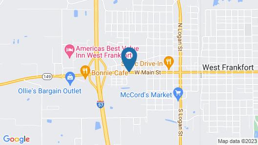 Gray Plaza Motel Map