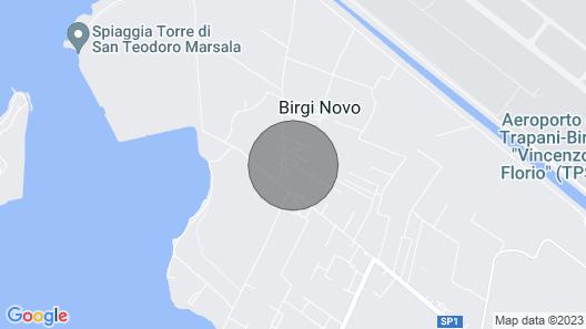 Holiday Apartment Brezza Di Stagnone Verde Apartment 170 Map