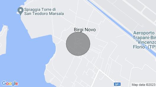 Sirio B & B - Artemia Holiday Home Map