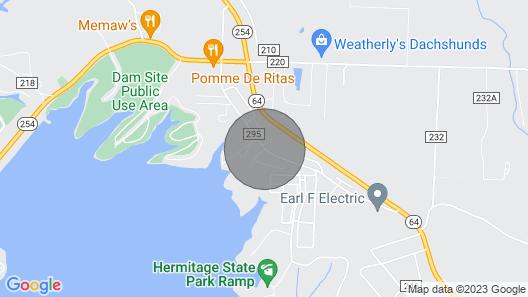 Lake House Getaway at Pomme De Terre Lake Map