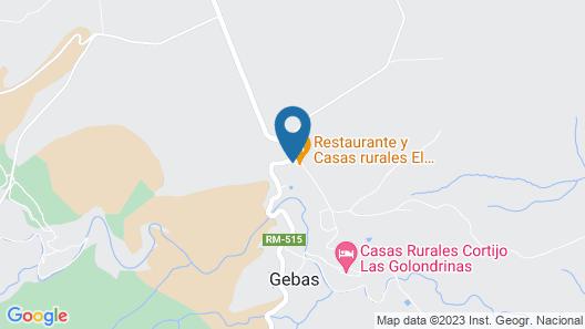 2 Bedroom Accommodation in Gebas Map