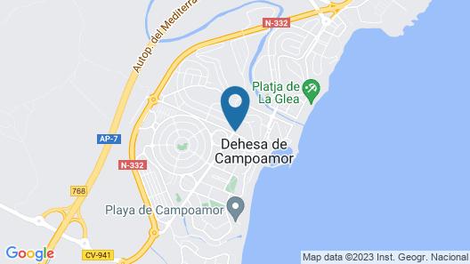 Hotel Montepiedra Map