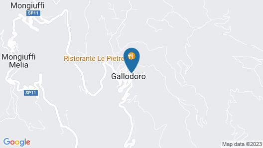Albergo Diffuso Borgo Gallodoro Map