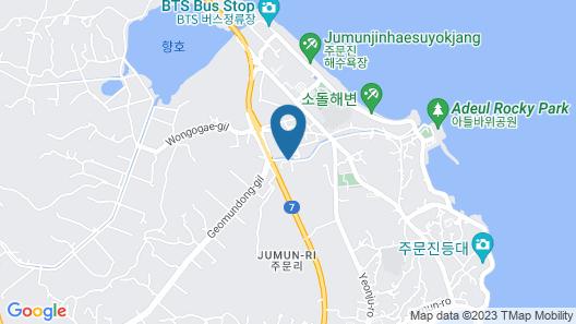 Jumunjin the Bluehill Resort Map