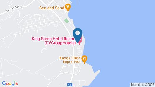 Hotel King Saron Map
