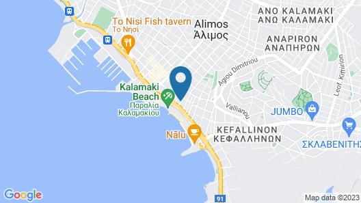 Hotel Nefeli Map