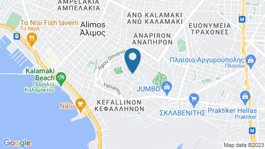Coconut Villa Map