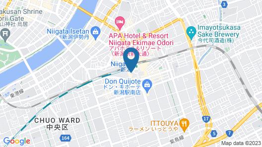 JR-EAST HOTEL METS NIIGATA Map