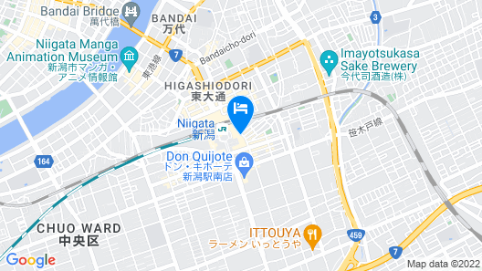 ART HOTEL Niigata Station Map