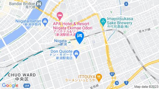 Hotel Terminal Inn Map