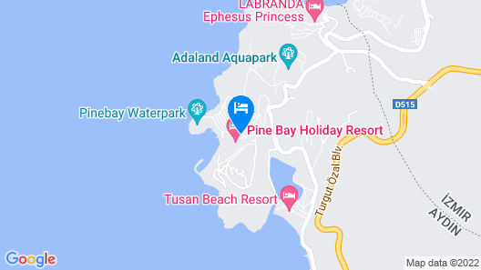 Pine Bay Holiday Resort  Map
