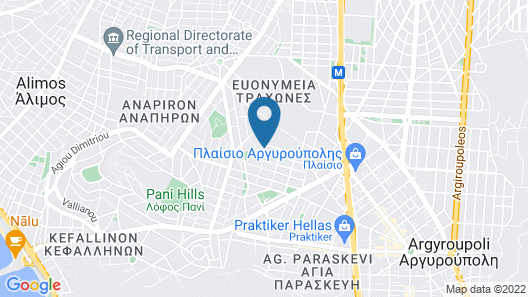 Snooze Hotel Map