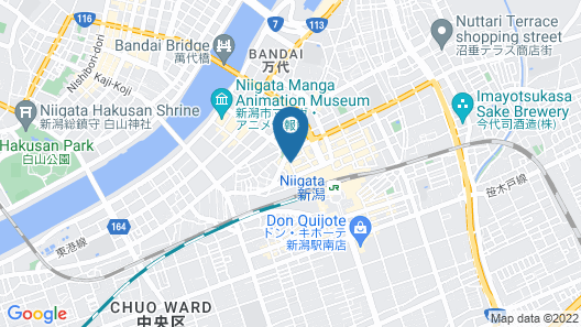 Niigata Keihin Hotel Map