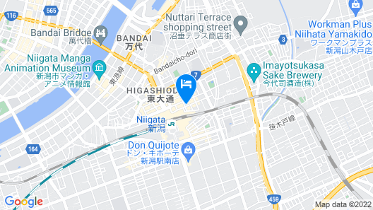 Niigata Terminal Hotel Map
