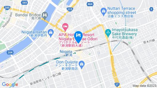 Niigata Daiichi Hotel Map