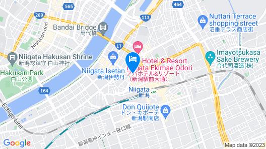 Niigata Toei Hotel Map