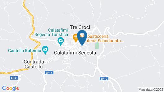 the House of Anita Sicilia Map