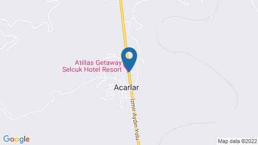 Atilla's Getaway Map