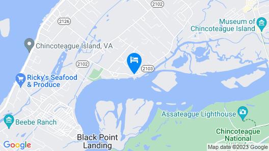 Snug Harbor Marina and Hotel Map
