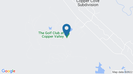 The Bungalows at Copper Valley Golf Club Map