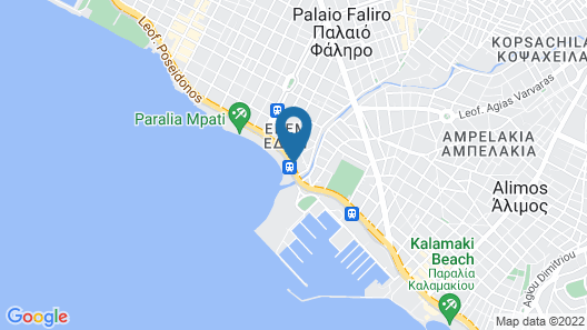 Poseidon Athens Map