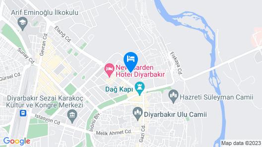 Mittania Regency Hotel Map