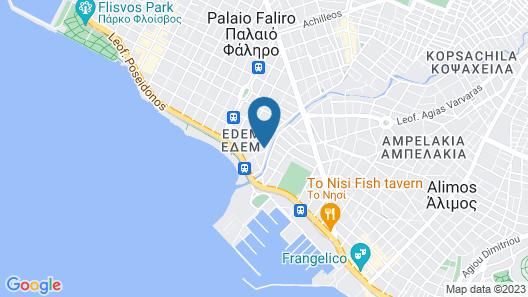 Edem Beach Apartment Mountain View Map