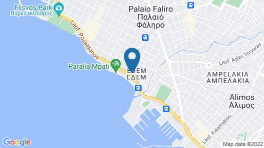 Unique flat with sea view Map