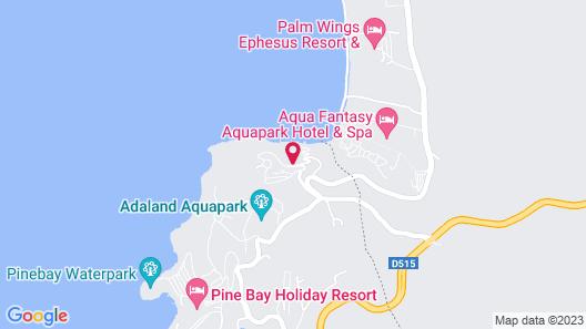 Labranda Ephesus Princess Kusadasi - All Inclusive Map