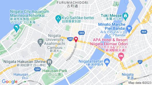 APA Hotel Niigata-Furumachi Map