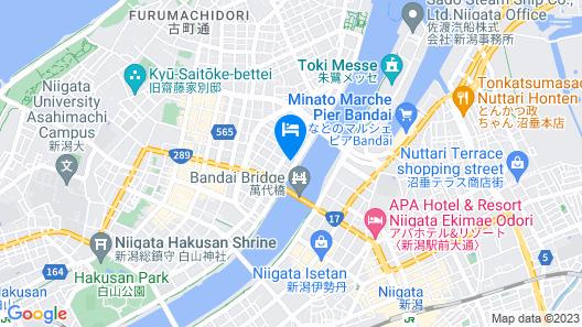 Niigata Grand Hotel Map