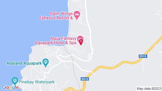 Aqua Fantasy Aquapark Hotel & Spa - All Inclusive Map