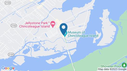 Best Western Plus Chincoteague Island Map
