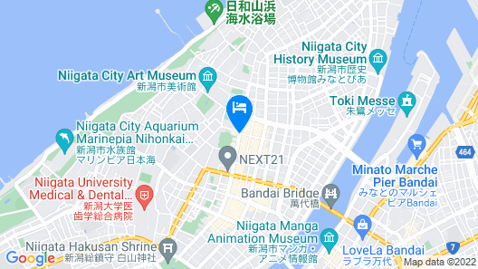 Hotel Italia Ken Map