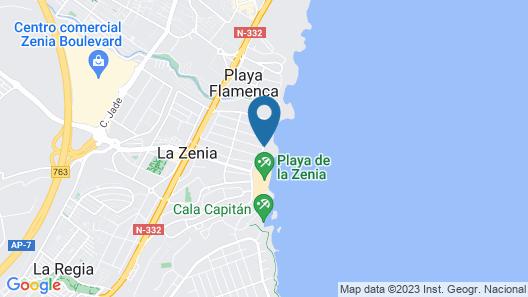 Hotel Servigroup La Zenia Map