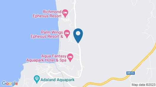 Palm Wings Ephesus Beach Resort Map